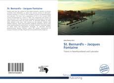Borítókép a  St. Bernard's – Jacques Fontaine - hoz