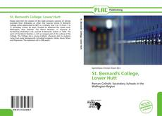 Bookcover of St. Bernard's College, Lower Hutt