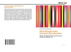 Portada del libro de West Bengal Joint Entrance Examination