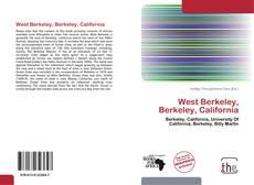 Portada del libro de West Berkeley, Berkeley, California