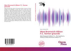 Capa do livro de West Bromwich Albion F.C. former grounds