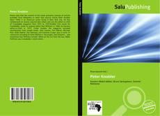 Bookcover of Peter Knobler