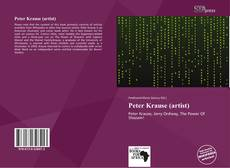 Bookcover of Peter Krause (artist)