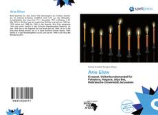 Bookcover of Arie Eliav