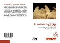 St. Boniface's Church (New York City) kitap kapağı