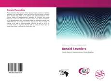 Buchcover von Ronald Saunders