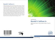 Borítókép a  Ronald S. Sullivan Jr. - hoz