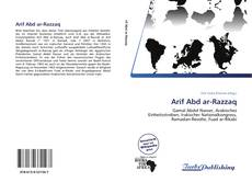 Bookcover of Arif Abd ar-Razzaq