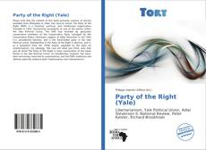 Copertina di Party of the Right (Yale)