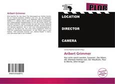 Buchcover von Aribert Grimmer