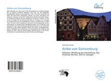 Buchcover von Aribo von Sonnenburg