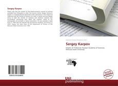 Bookcover of Sergey Karpov