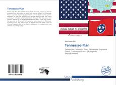 Bookcover of Tennessee Plan