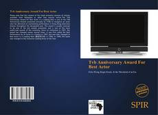 Bookcover of Tvb Anniversary Award For Best Actor