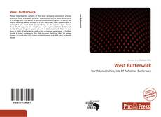 Capa do livro de West Butterwick