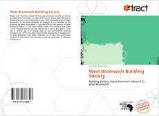 Capa do livro de West Bromwich Building Society