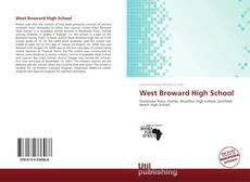 Capa do livro de West Broward High School