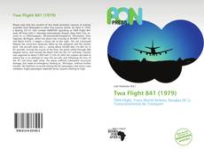 Capa do livro de Twa Flight 841 (1979)