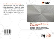 Capa do livro de West Bromwich Central tram stop