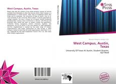 Bookcover of West Campus, Austin, Texas