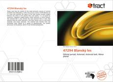 Bookcover of 47294 Blanský les