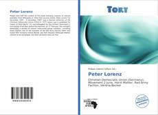 Buchcover von Peter Lorenz