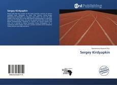 Sergey Kirdyapkin kitap kapağı