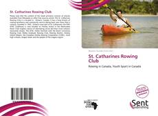 Capa do livro de St. Catharines Rowing Club