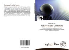 Capa do livro de Polypropylene Carbonate