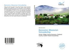 Portada del libro de Borowice, Masovian Voivodeship