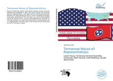 Bookcover of Tennessee House of Representatives