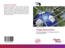Sergey Korovushkin kitap kapağı