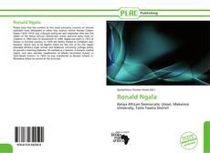 Couverture de Ronald Ngala