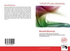 Portada del libro de Ronald Mariano
