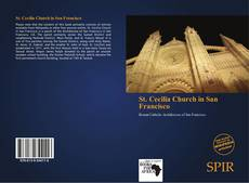 Bookcover of St. Cecilia Church in San Francisco