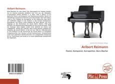 Portada del libro de Aribert Reimann