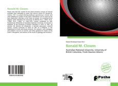 Ronald M. Clowes的封面