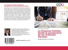 Portada del libro de La Empresa Familiar desde la perspectiva de los Sistemas Sociales