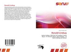 Bookcover of Ronald Lindsay