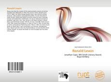 Portada del libro de Ronald Lewin
