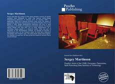 Bookcover of Sergey Martinson