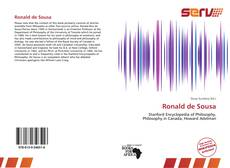 Copertina di Ronald de Sousa
