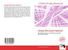 Bookcover of Sergey Muravyov-Apostol