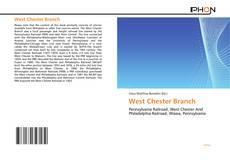 Portada del libro de West Chester Branch