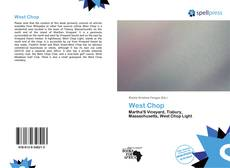 Bookcover of West Chop