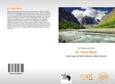 Bookcover of St. Clair River