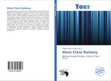 Bookcover of West Clare Railway