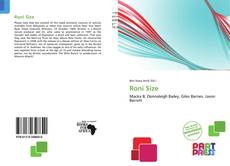 Buchcover von Roni Size