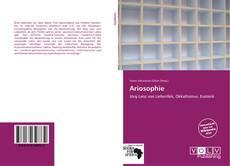 Bookcover of Ariosophie
