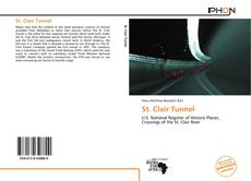 Bookcover of St. Clair Tunnel
